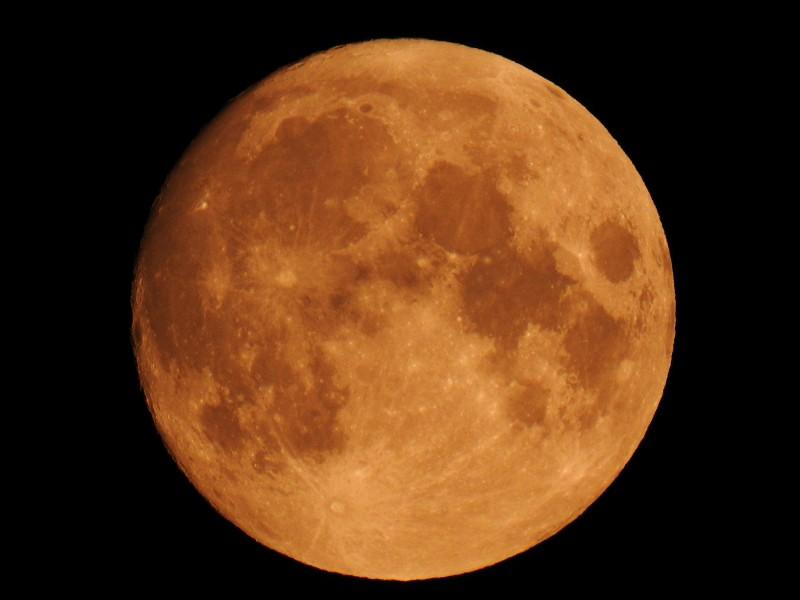 """Осетровая Луна, август 2020 г. Фото без обработки сделано на Nikon Coolpix P900 в режиме """"Луна"""""""