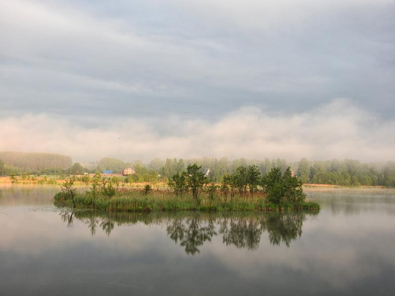 Хоть разок за лето, да выбралась на рыбалку! (#92)