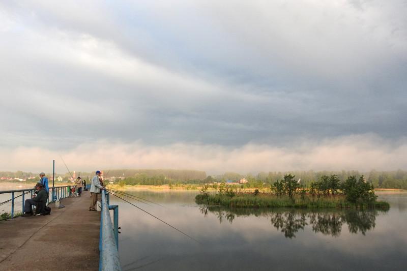 Рыбаки на Воложке
