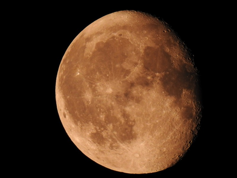 "Луна. Фото сделано в режиме съемки ""Луна"" фотоаппаратом Nikon Coolpix P900."