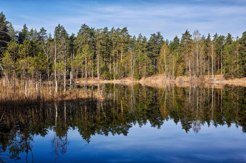 Озеро Свято. Навашино.
