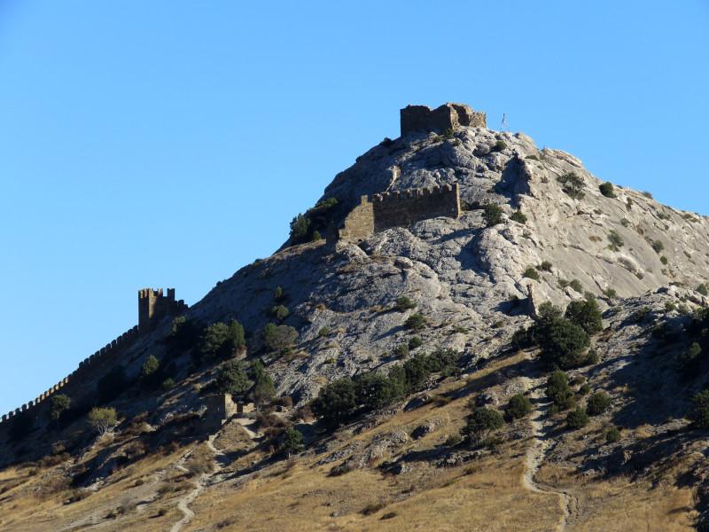 Генуэзская крепость. Судак.