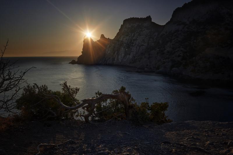 Один день в осеннем Крыму от рассвета до заката