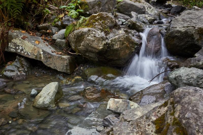 Нижний ярус водопада Поликаря