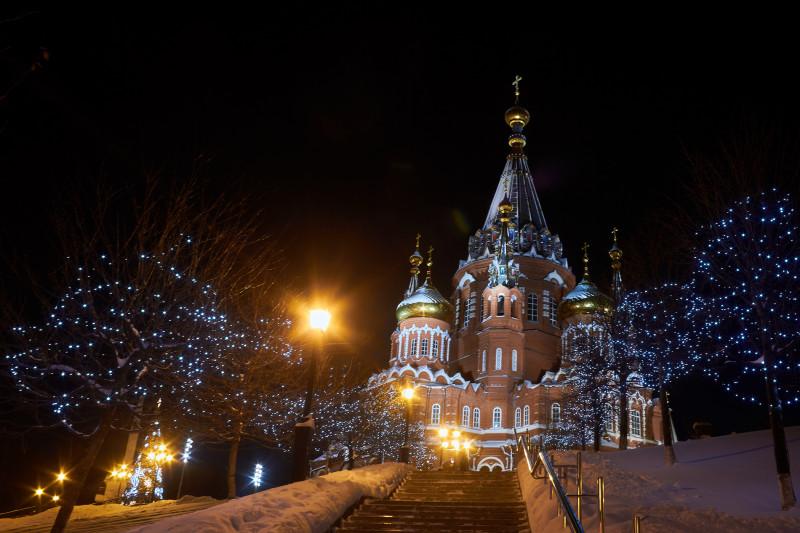 Михаило-Архангельский кафедральный собор г. Ижевска
