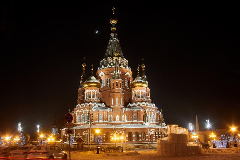 Михаило-Архангельский собор. Ижевск.