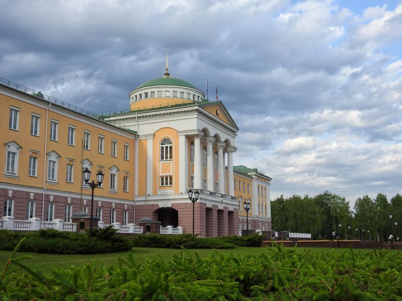 Резиденция главы УР. Ижевск.