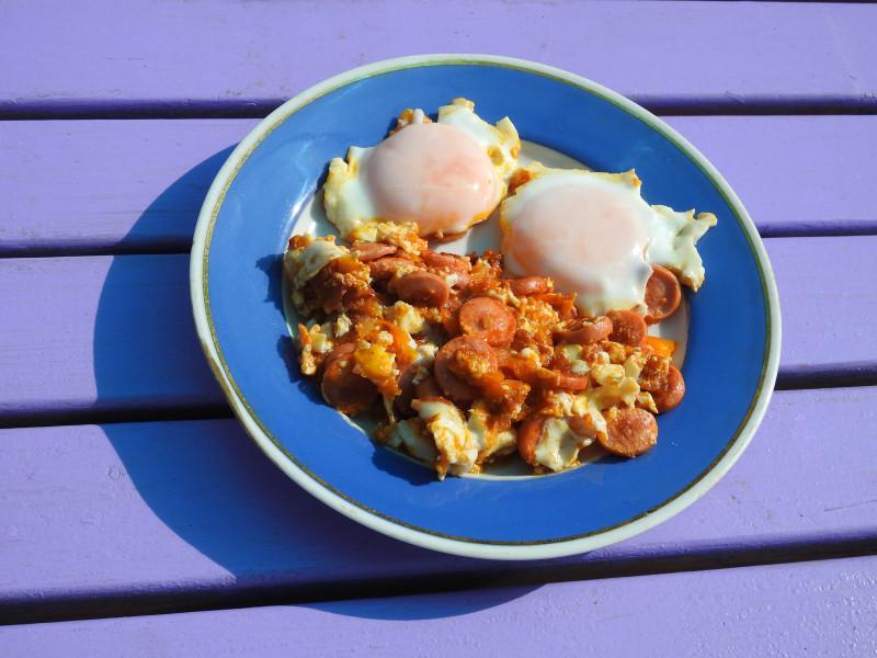 Дачный завтрак