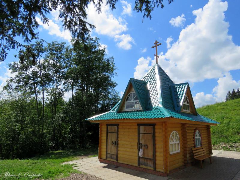 На фото купель в с. Перевозное Воткинского района Удмуртии.