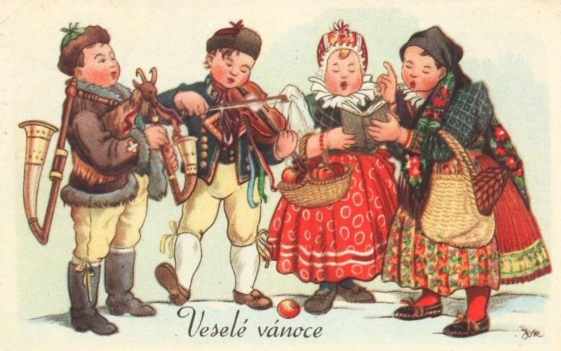 чешские открытки с новым годом фото скромной