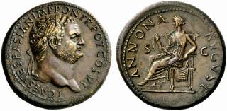 Тит бронзовый дюпонд рим 69 79 гг н э