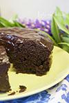 Шоколадно-кабачковый торт