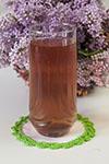 Освежающий напиток с базиликом