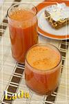 Витаминный сок из моркови