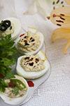 Яйца с лимоном и паприкой