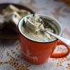 Кофе с апельсиново шоколадным пломбиром