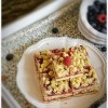 Тертый пирог с малиновым вареньем
