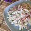 Салат с черемшой Нарядный