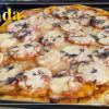 Пицца с тонким тестом Маргарита