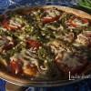 Пицца с черемшой