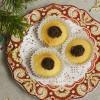 Маффины апельсиновые с шоколадным кремом
