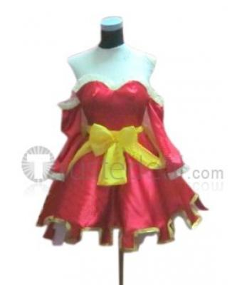 Fairy Tail Meredy Blue red Cosplay Costume