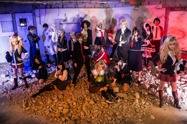 Danganronpa group cosplay