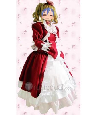 Black Butler Elizabeth Middleford Red Cosplay Costume