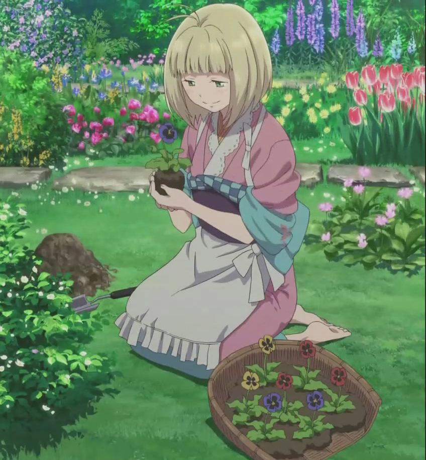 Ao no exorcist shiemi moriyama kimono cosplay cosplay world for Jardin anime