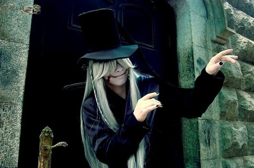 Creepy Black Butler Undertaker Cosplay