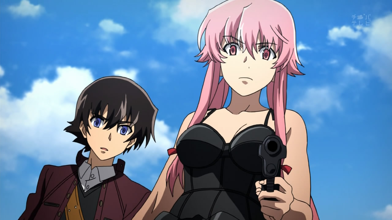 Fight entre les couples de Mirai Nikki et Guilty Crown ! 64854_original