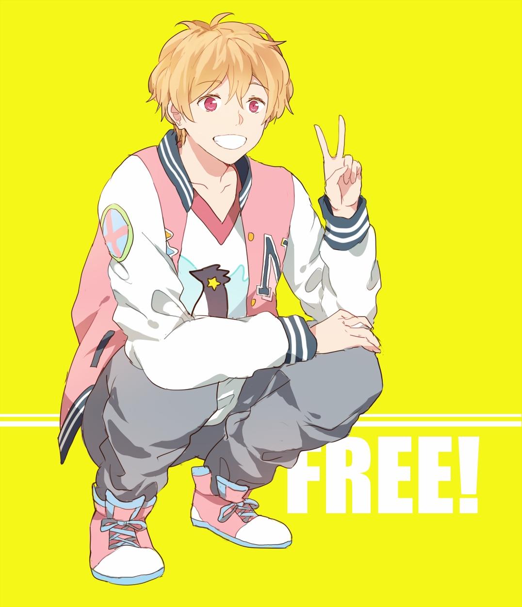 Free Nagisa Hazuki Ending Pink Baseball Cosplay Costume Laddypan