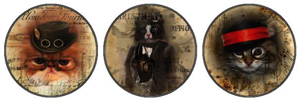 стимпанк-коты 2