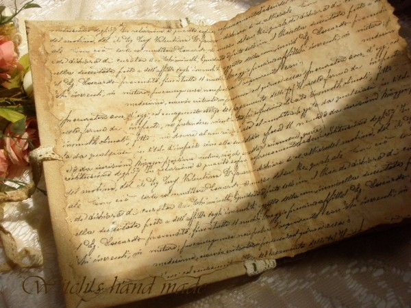 письма фото старые