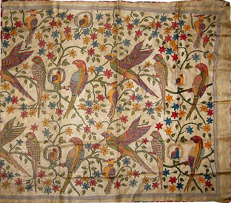 Kantha-embroidery-of-West-Bengal