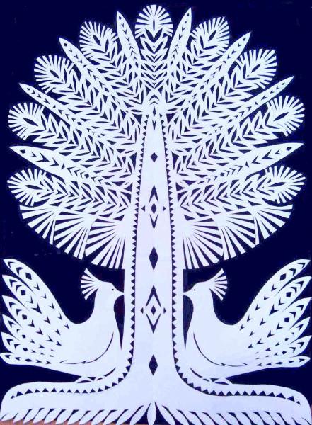вытинанка Дерево рбч2