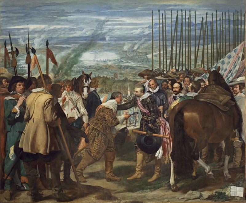 """Веласкес. """"Сдача Бреды"""" (1634-1635)"""
