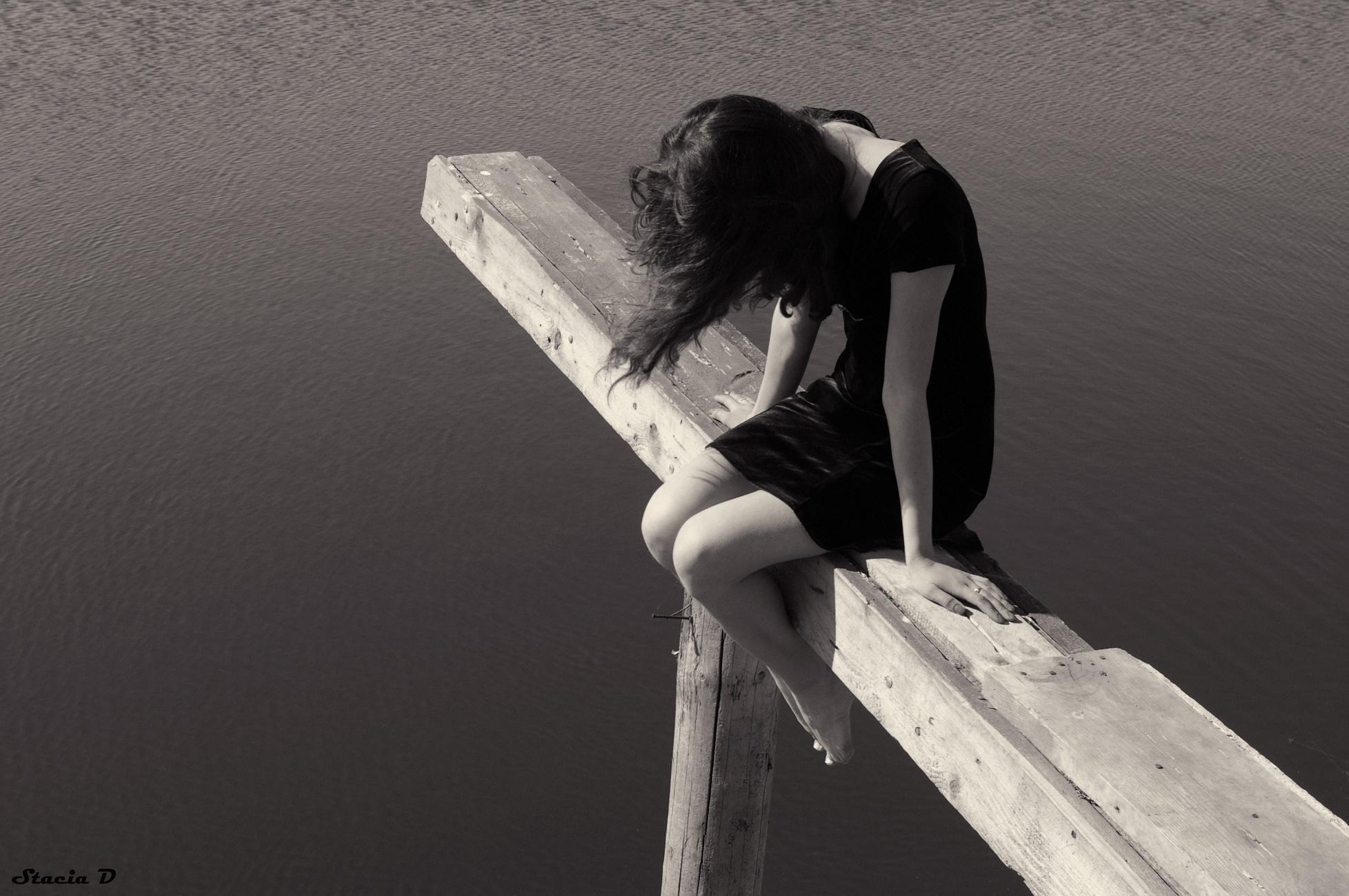 Картинки грусть одиночество девушки с надписями