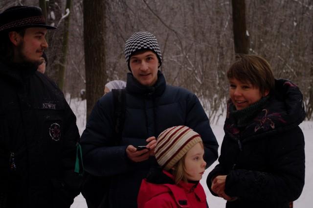 Никитенко, Чирикова и ее дочка Лиза