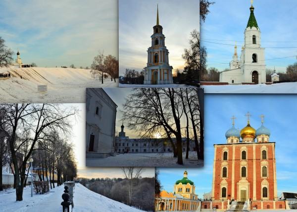 1 Рязанский кремль зима