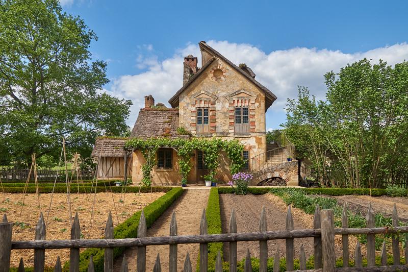 Версаль. Ферма Марии-Антуанетты
