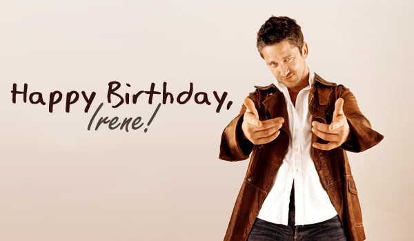 Birthday Irene 2013