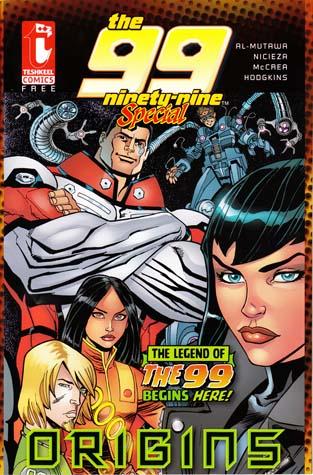 The 99 comics - Origins Issue