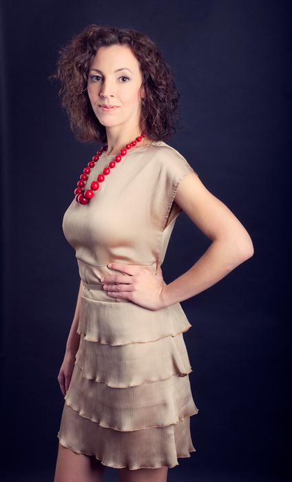 палевое платье