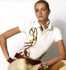 футболка поло+шарфик шейный=классикаl