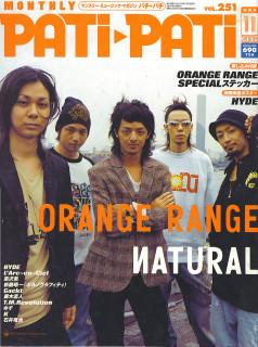 Pati-Pati 11'05 (Orange Range)