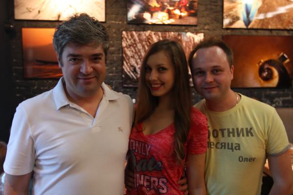 Сергей Доля и Олег Бармин