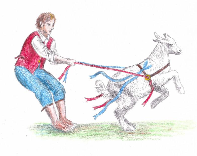 goat on lead final