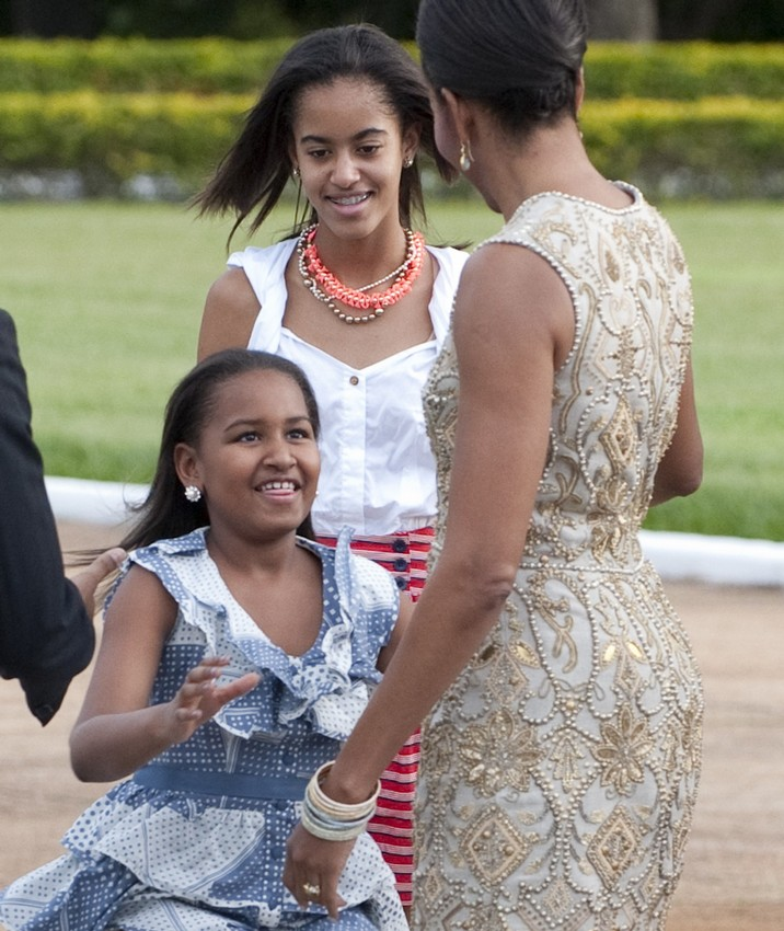 Picspam The Obamas In S America Pt I Brazil Day 1