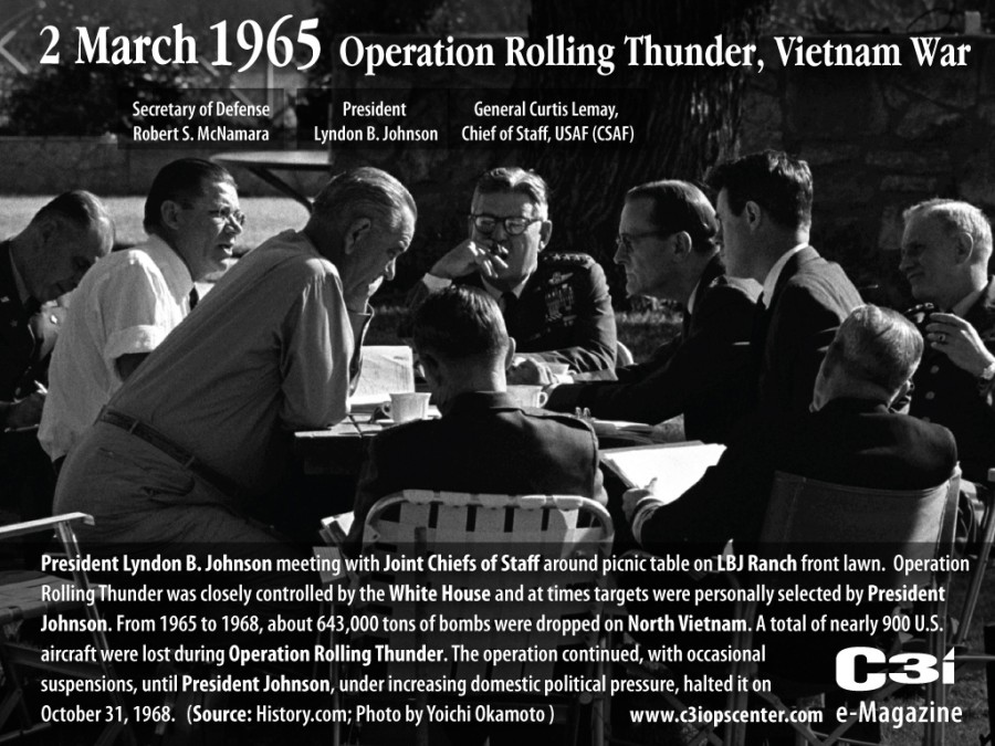 2March1965JohnsonRollingThunder